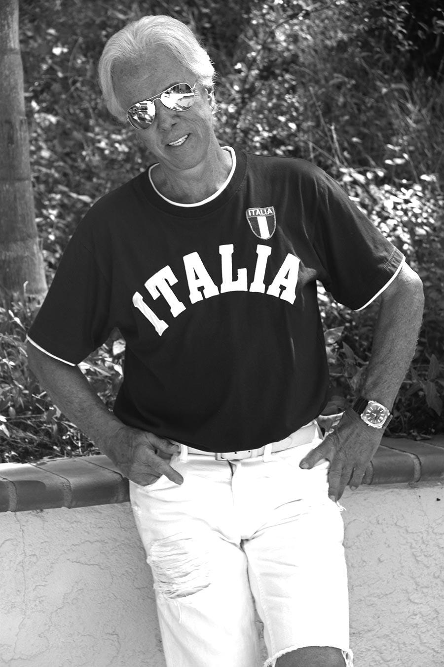 Kris Erik Stevens In Italia Shirt